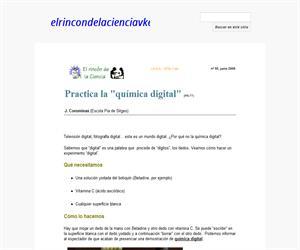 "Practica la ""química digital"""