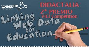 Didactalia: Segundo lugar en la VICI Competition por su Grafo de Conocimiento Educativo (LinkedUp Challenge)