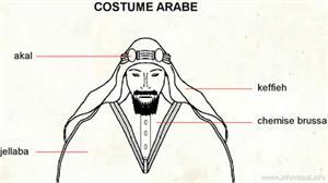 Costume arabe (Dictionnaire Visuel)
