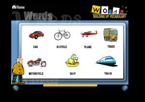 Travel. Words, building up vocabulary (constructor.educarex)