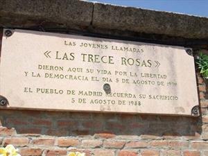 ¿Quiénes fueron las 'Trece Rosas'?