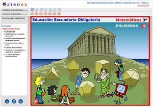 Poliedros. Matemáticas 3º Secundaria