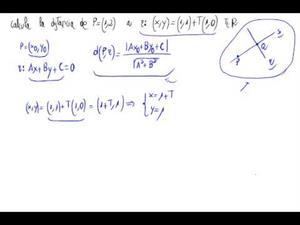 Distancia de punto a recta (Con fórmula)