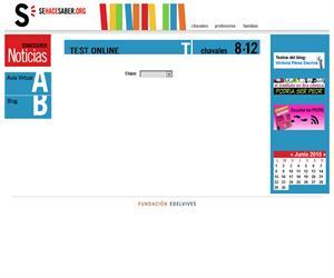 Test online para alumnos de 8 a 12 años (Fundación Edelvives)