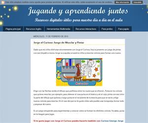 Jorge el Curioso: Juego de Mezclar y Pintar