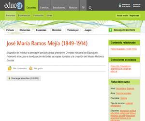 Ramos Mejía, José María (1849-1914)
