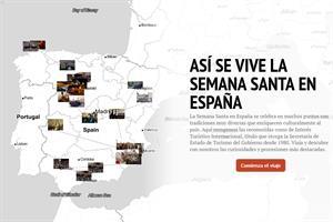 Mapa interactivo: 24 ciudades donde vivir la Semana Santa en España (Antena 3)