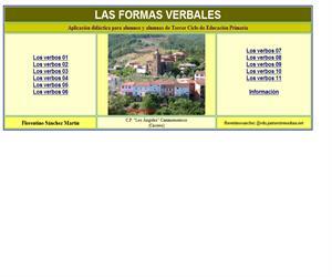 Formas verbales