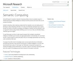 Semantic Computing - Microsoft Research
