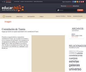 Constelación de Taurus (Educarchile)