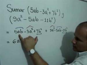 Cómo sumar dos polinomios (JulioProfe)