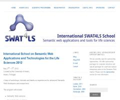 International School on Semantic Web Applications and Technologies for the Life Sciences 2012