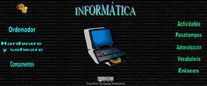 Unidad didáctica de Informática