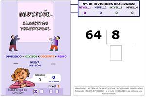 Números naturales. División de números naturales
