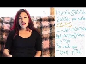 La función gamma y una transformada de Laplace