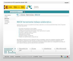 RedIRIS - BSCW herramienta trabajo colaborativo