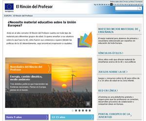 El rincón del profesor (Unión Europea)
