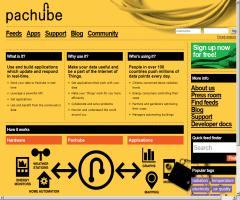 pachube. Connecting environments, patching the planet
