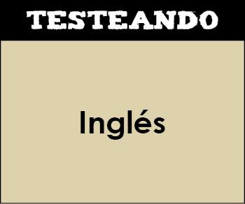 Inglés - Asignatura completa. 4º Primaria - Inglés (Testeando)