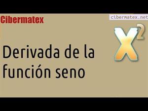 Derivada del seno (CiberMatex)