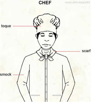 Chef  (Visual Dictionary)