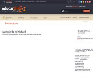 Agencia de publicidad (Educarchile)