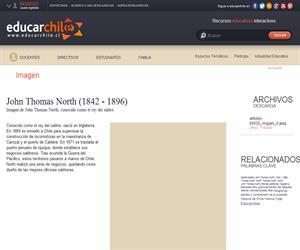 John Thomas North (1842 - 1896) (Educarchile)
