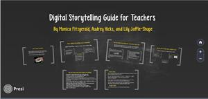Digital Storytelling Guide for Teachers