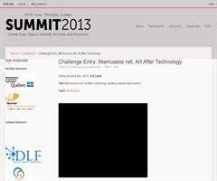 MisMuseos.net (GNOSS), elegido finalista del LODLAM Challenge (Canadá)