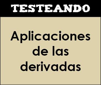 Aplicaciones de las derivadas. 2º Bachillerato - Matemáticas (Testeando)