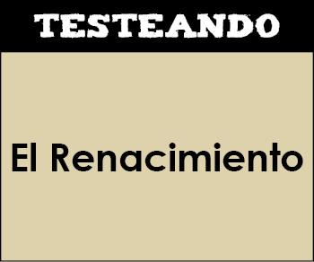 El Renacimiento. 1º Bachillerato - Literatura (Testeando)