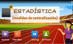 Estadística (medidas de centralización) - Unidad interactiva