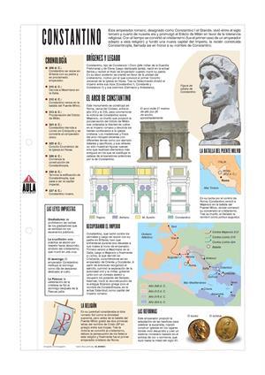 Constantino I el Grande. Láminas de El Mundo