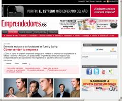 Entrevista a los fundadores de Tuenti y BuyVip (Emprendedores.es)