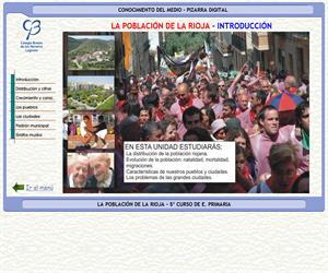 La población de La Rioja – Conocimiento del medio – 3º Ciclo de E. Primaria – Unidad didáctica.