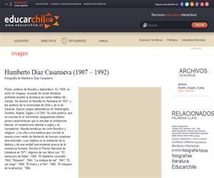 Humberto Díaz Casanueva (1907 ? 1992) (Educarchile)