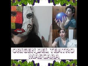 TEATRO 🎭 : GRECIA origen teatro /realización de máscara 🎭