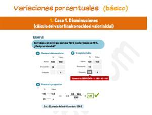 Variaciones porcentuales (básico)