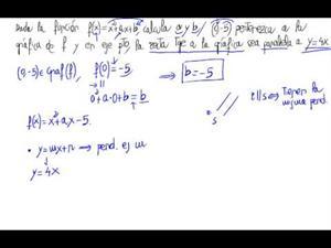 Función, parámetros y pendiente