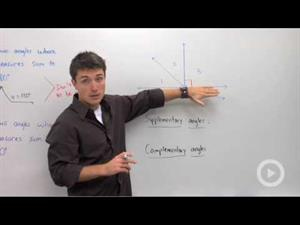Supplementary and Complementary Angles