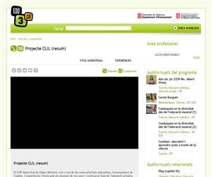Resum del Projecte CLIL (Edu3.cat)