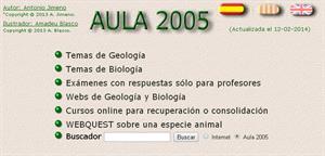 aula2005.com: portal educativo para enseñar y aprender ciencias naturales