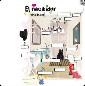 El recibidor - The hall. Arrastrar y soltar (Everest)