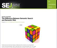 The Difference Between Semantic Search and Semantic Web