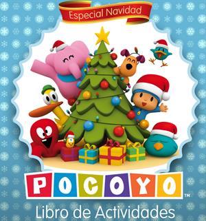 Libro de actividades de Navidad de Pocoyó