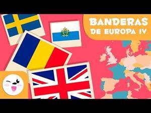 Las banderas de Europa IV