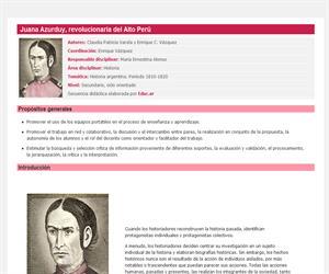 Juana Azurduy, revolucionaria del Alto Perú