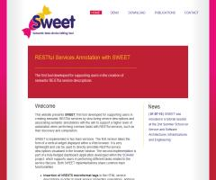 Sweet: first tool  for supporting users in creating semantic RESTful services