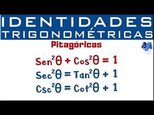 Identidades Trigonométricas | Identidades Pitagóricas
