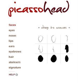 Picassohead, dibuja como Piccaso en la red